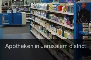 Apotheken in Jerusalem district (Provinz)