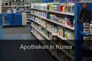 Apotheken in Korea