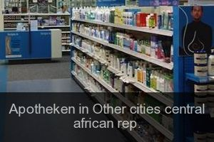 Apotheken in Other cities central african rep.