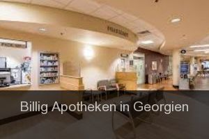 Billig Apotheken in Georgien